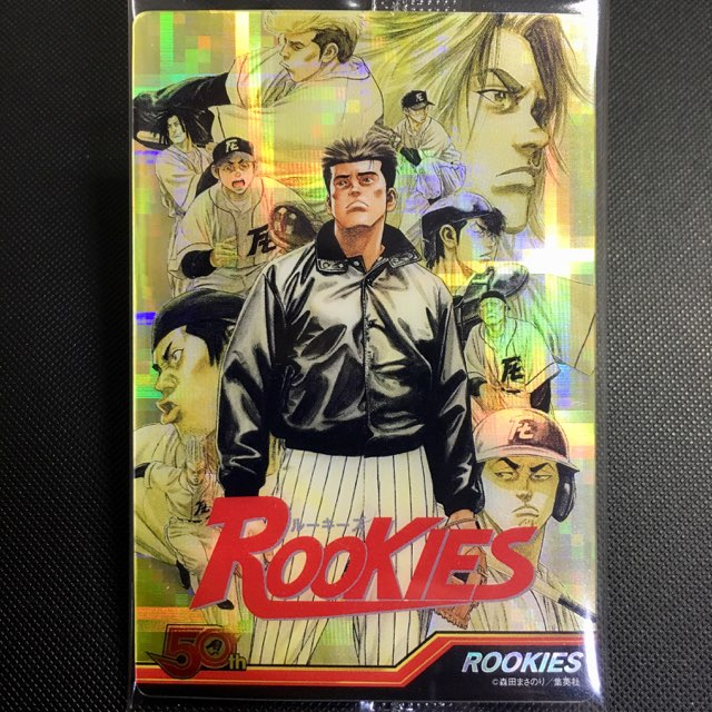 ROOKIESのステッカー