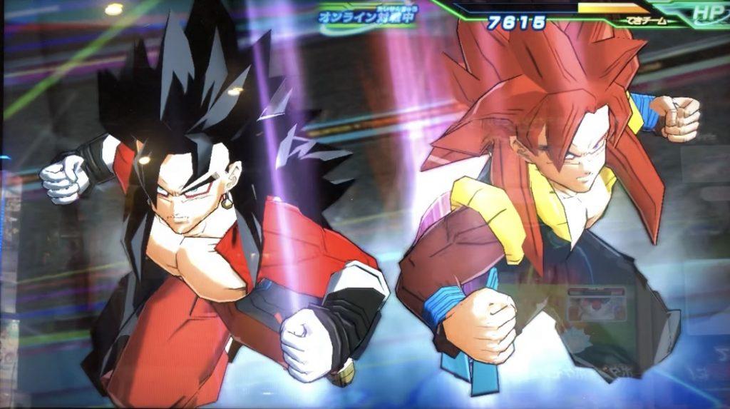 ゴジータ:ゼノとベジット:ゼノの共闘