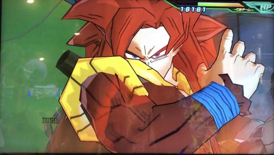 ゴジータ:ゼノの無敵のフリーズアタック
