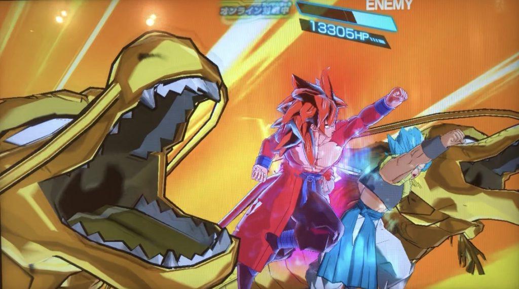 孫悟空:ゼノの限界突破のダブル究極龍拳