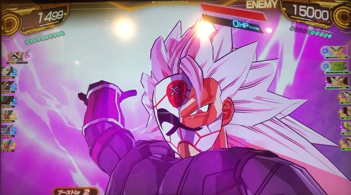 紅き仮面のサイヤ人の神爆裂光弾